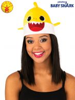 BABY SHARK HAT  - YELLOW