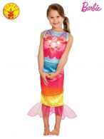 BARBIE MERMAID CLASSIC COSTUME - SIZE 4-6