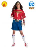 WONDER WOMAN 1984 OVERSIZED TEE COSTUME- SIZE TEEN