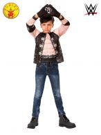 AJ STYLES COSTUME TOP AND GLOVES - CHILD 6+